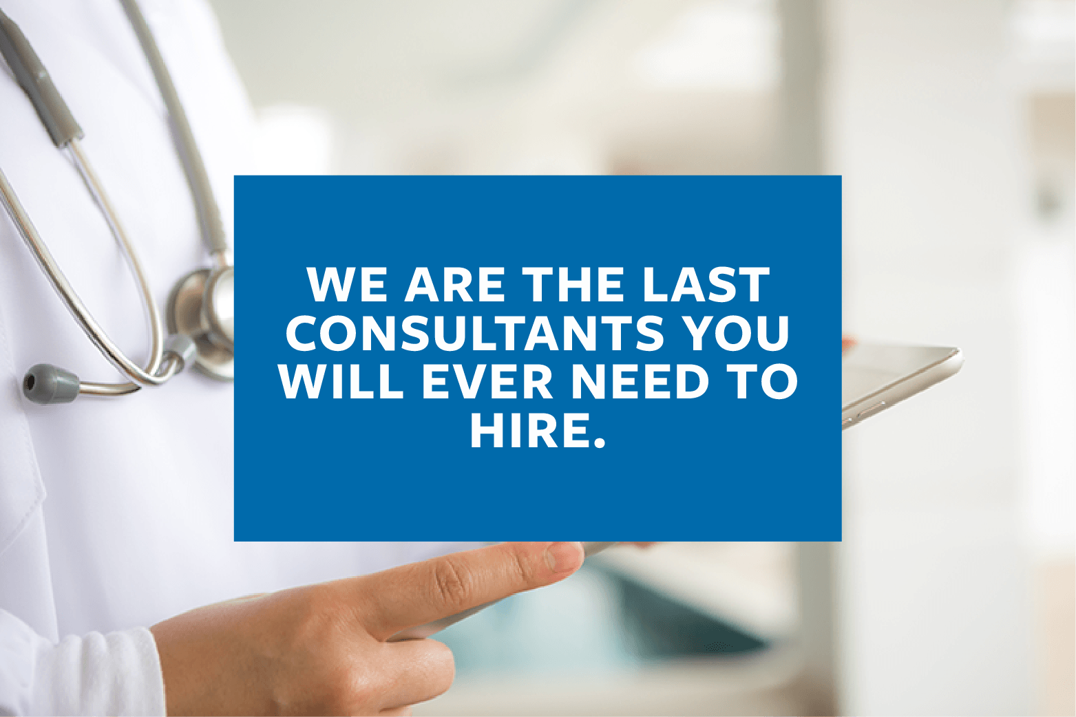 Trindent will be the last consultants you will need