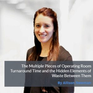 Allison Newman Operating Room Turnaround Time