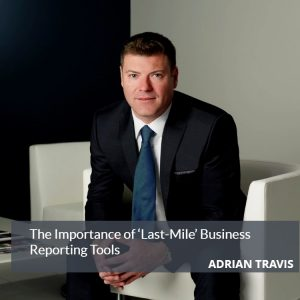 Adrian Travis Business Reporting Tools Blog