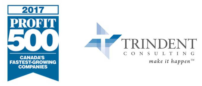 Trindent Consulting Ranks No. 134 on the 2017 Profit 500