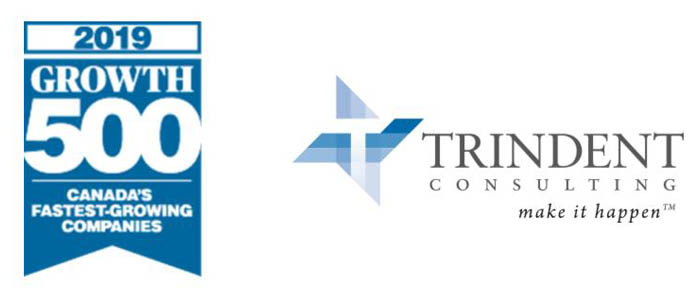 Trindent Consulting Ranks No. 283 on the 2019 Growth 500