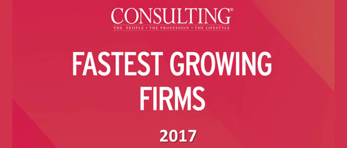 Trindent Consulting Named to List of 2017 Fastest-Growing consulting firms