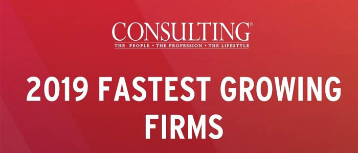 Trindent Consulting Named to the List of 2019 Fastest-Growing consulting firms