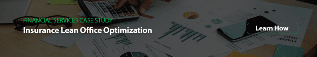 insurance lean office optimization